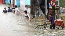 Mumbai Heavy Rainfall में Water Logging से जूझ रहे लोग, ठप्प हुआ शहर | वनइंडिया हिंदी