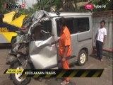 Kecelakaan Maut Minibus & Truk, 2 Orang Tewas - Police Line 24/04