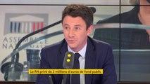 """Marine Le Pen parle d'attentat anti-démocratique, après la saisie du RN : """"Quand on aspire aux plus hautes fonctions de l'État, on respecte d'abord l'indépendance de l'autorité judiciaire"""" estime Benjamin Griveaux"""