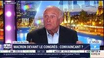 Le duel de l'éco: Emmanuel Macron a-t-il été convaincant lors de son discours devant le Congrès de Versailles ? - 09/07