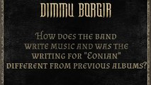 WRITING THE ALBUMShagrath (Official) and Silenoz (Official) discuss writing music for the tenth full-length Dimmu Borgir album, EONIAN, out May 4th via Nuclear