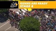 Les coureurs sur la ligne / Riders are ready - Étape 4 / Stage 4 - Tour de France 2018