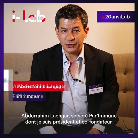 [Les lauréats en boite] Abderrahim Lachgar, co-fondateur de Par'Immune