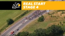 Départ réel / Real start - Étape 4 / Stage 4 - Tour de France 2018