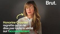 Honorine Crosnier se confie sans détour sur l'accouchement