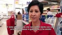 """""""Gli italiani? Sono scappati"""". Osahon non ha avuto paura e ha bloccato un rapinatore armato. Ora la titolare del supermercato vuole offrirgli un lavoro."""