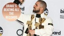Drake beats Beatles' no.1 record