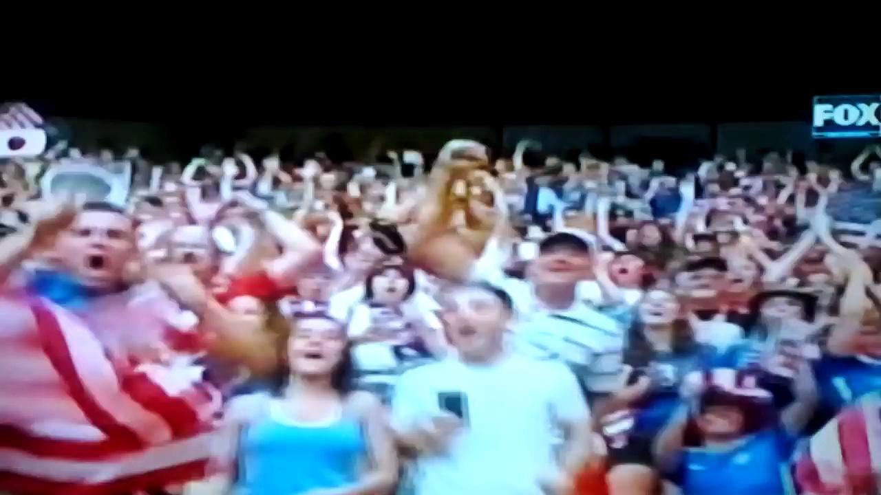 Women's World Cup 2015 Patriotic Eagle Fan