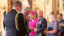 Royals attend Buckingham Palace reception for RAF100