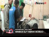 Minibus Isuzu Elf tabrak minibus Mobilio mengakibatkan 6 tewas, 10 luka - iNews Pagi 07/03