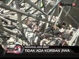 Baru 3 tahun di bangun, atap sekolah di kerawang ambruk - iNews Malam 09/03