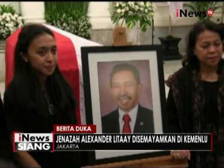 Jenazah duta besar Indonesia untuk Kroasia hari ini dimakamkan di Sandiago Hills - iNews Siang 01/07