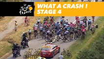 Quelle chute! / What a crash! - Étape 4 / Stage 4 - Tour de France 2018