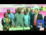 RTB/Inauguration des infrastructures du Projet régionale d'infrastructure de la communication de l'Afrique de l'ouest