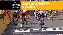 Last kilometer / Flamme rouge - Étape 4 / Stage 4 - Tour de France 2018