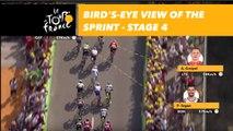Graphic near live - Étape 4 / Stage 4 - Tour de France 2018