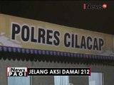 Jelang aksi damai 212, Polres Cilacap gelar razia kendaraan menuju Jakarta - iNews Pagi 01/12