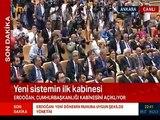 Erdoğan ilk kabineyi ve yeni bakanları açıkladı