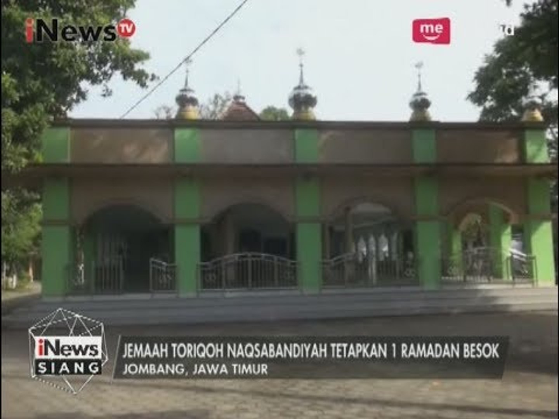 Jemaah Toriqoh Naqsabandiyah Kholidiyah Al-Aliyah Belum Berpuasa Pada Hari Ini - iNews Siang 27/05