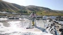 Muş'ta Üretilen Tuz Ekonomiye Katkı Sağlıyor