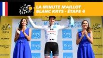 La minute Maillot Blanc Krys - Étape 4 - Tour de France 2018