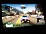 PS3 Burnout Paradise Démo Course 1