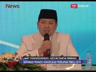 Gelar Rapimnas Kedua, Partai Perindo Yakin Raih Banyak Suara Saat Pemilu 2019 - iNews Malam 21/03