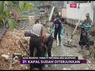 Humas Pertamina Apresiasi 1000 Orang yang Terlibat Pembersihan Tumpahan Minyak - iNews Sore 06/04