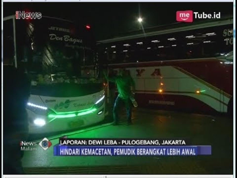 Hingga Hari Ini, 3 Ribu Penumpang Berangkat dari Terminal Pulogebang - iNews Malam 06/06