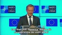 Tusk: Usa abbiate più considerazione alleati, non ne avete molti
