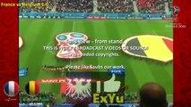 France vs Belgium 1-0 goals highlights fans celebrations world cup 2018 semifinal