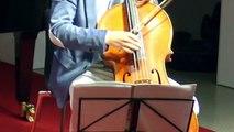 In der Gesprächskonzertreihe gastierten in unserem Museum am 14.6.2018 der Cellist Fjodor Elesin - Violoncellist und Pianistin Katie Mahan. Hier Teil I dessen h