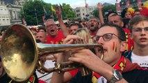 Trompettiste  France - Belgique à Arlon 2
