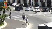 Bari: filmati mentre scippano la borsa ad una donna, due arresti