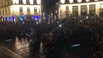 Coupe du monde 2018. La liesse, place Royale, à Nantes après France-Belgique