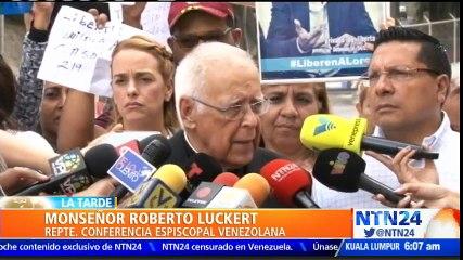 """Impidieron ingreso de monseñor Roberto Lückert a El Helicoide: """"No podemos ser perros mudos"""""""