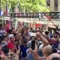 Mondial : La joie des Français au coeur de Manhattan au coup de sifflet final