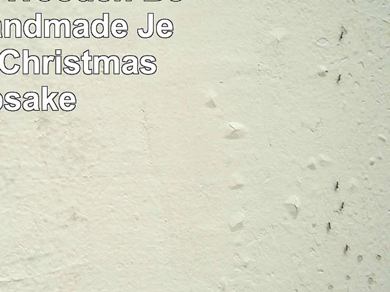 Snowflakes Wooden Box Polish Handmade Jewelry Box Christmas Keepsake