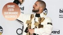 Drake quebra recorde dos Beatles