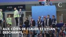 PHOTOS. Coupe du monde 2018 : Dany Boon a emmené ses fils Noé et Eytan soutenir la France contre la Belgique