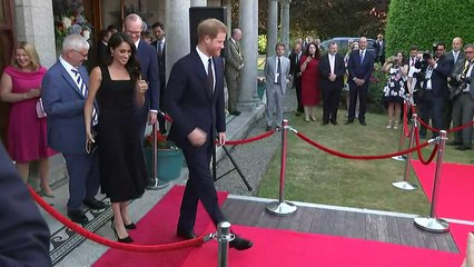 Prince Harry speaks Irish in Dublin