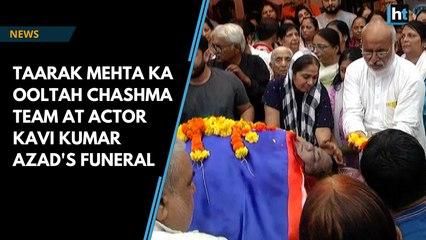 Dr Haathi's funeral has Taarak Mehta Ka Ooltah Chashmah team