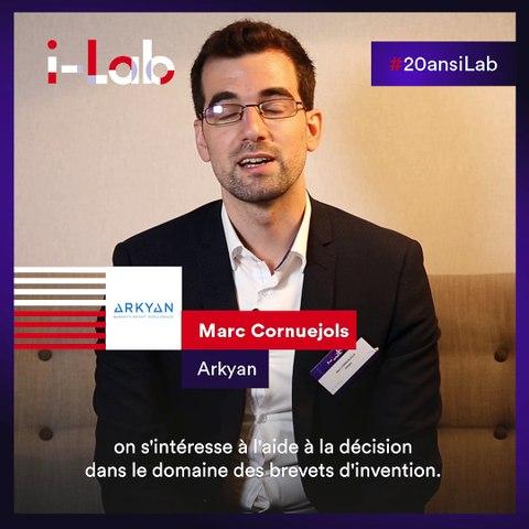 [Les lauréats en boite] Marc Cornuejols, fondateur de Arkyan