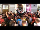 England Fans Take Over The Streets Of Moscow Ahead Of World Cup Semi-Final - Russia 2018 World Cup