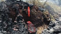 This Video Of Hawaii Lava Oozing Out Is Weirdly Mesmerizing
