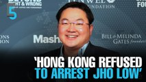 EVENING 5: Hong Kong 'declined' request to nab Low