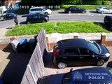 Londres : La police diffuse la vidéo de la tentative d'assassinat d'une conductrice bloquée dans les embouteillages.