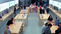 Ils braquent une boutique Apple et repartent avec 27000 dollars de matériel