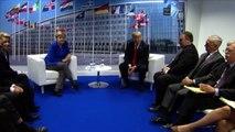 Nato, Trump assicura: ho dei rapporti molto buoni con Merkel