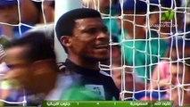 الشوط الاول مباراة السعودية و جنوب افريقيا 2-2 كاس العالم 1998